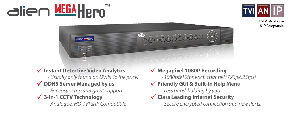 The Alien Mega Hero DVR